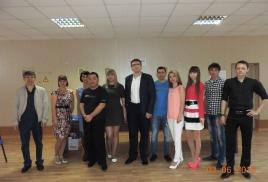 Первый выпуск школы предпринимателей в Георгиевске